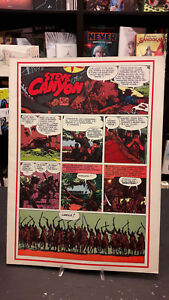 Steve Canyon #09 Comic Art Gertie Daily 18 Milton Caniff 1975