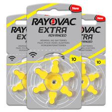 30pcs Rayovac Extra Hearing Aid Batteries  Zinc Air10/A10/PR70 for BTE
