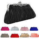 Women Evening Bag Handbag Clutch Shoulder Chain Purse Rhinestone Party Wedding