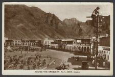ADEN/ARABIA-ROUND THE CRESCENT-1935-MAILED CARD