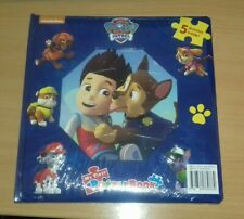 NICKLEODEON PAW PATROL MY FIRST PUZZLE BOOK WITH 5 PUZZLES INSIDE BN FREE P+P