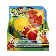 Playmates Toys Ben 10 Transform-N-Battle Roleplay Set for Kids - Heatblast