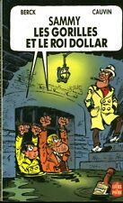 Livre BD  Sammy les gorilles et le roi dollar Berck Cauvin book