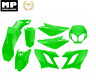 Kit carénage 8 Coques Capot vert DERBI SENDA APRILIA SX50 GILERA SMT/RCR