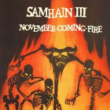 SAMHAIN November Coming Fire LP NEW VINYL Plan9 Misfits Danzig
