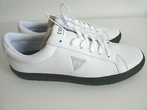 new GUESS white shoes Size UK 10 Men's Designer Trainers Casual Shoes