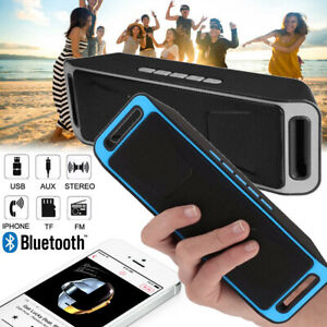 Wireless Speaker Bluetooth Lautsprecher Subwoofer Musikbox AUX FM MP3 USB SD