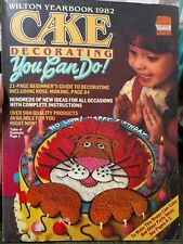 Vintage Wilton Yearbook 1982 Cake Decorating You can do!