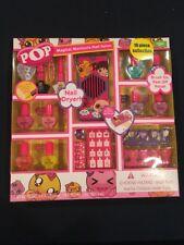 Pop 18 piece Magical Manicure Nail Salon girls nail kit Nail polish New Aal2