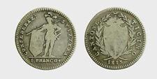 s529_85)  Swiss Cantons 1813 Schweiz - Tessin Swiss TICINO 1 Franc (Franco) 1813