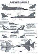 Berna Decals 1/72 DASSAULT MIRAGE F1 B French Fighter