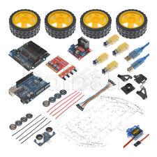 26-11-0012 New Multi Functional 4WD Robot Car Kit for Arduino Smart Car DIY