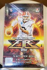 2014 Topps Fire NFL Football factory sealed hobby box FREE SHIP WORLDWIDE!