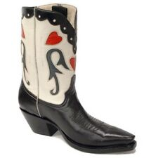 Pearl Pee Wee Hand Made Cowboy Boots Ladies Size 9