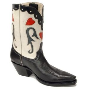 Pearl Pee Wee Hand Made Cowboy Boots Ladies Size 10