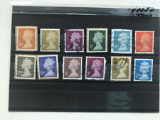 United Kingdom, England, Great Britain, 12 used stamps, VF see photo,