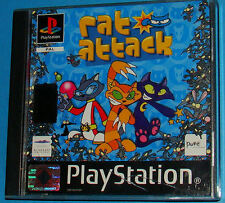 Rat Attack - Sony Playstation - PS1 PSX - PAL