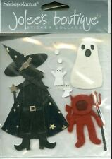 HALLOWEEN Spooky Costume Party Witch Ghost Devil Trick Treat Jolee's stickers
