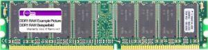 512MB Samsung DDR1 RAM PC3200U-30331-B2 400MHz CL3 184-pin Dimm M368L6423ETM-CCC