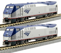 KATO 2 LOCO SET N Scale 1766030 + 1766031 P42 Amtrak Ph V #47 & #160 DCC Ready
