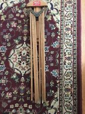 """Vintage Wooden Wall Hanging """"Popular"""" Clothes Dryer Rack by GEM MFG. CO."""
