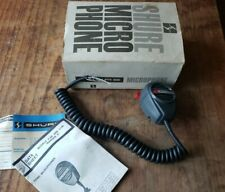 VINTAGE SHURE RANGER 414B HAM RADIO / CB MICROPHONE CONTROLLED MAGNETIC