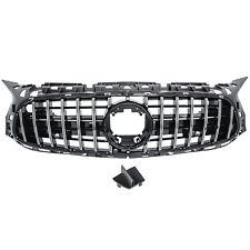 für Mercedes GT LOOK Grill CLS W218 C218 X218 AMG Paket GLANZ CHROM Kühlergrill