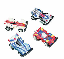 12 Pullback Mini Race Car Racers birthday party favors Racing