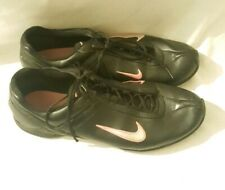 nike air women trainers - size 8 - Black And Pink