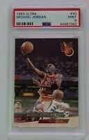 HOF Michael Jordan 1993-94 Fleer Ultra #30 PSA 9 MINT Chicago Bulls
