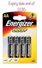 Energizer Ultra Plus Alkaline 2 Packs of  4pk AA with Free Delivery