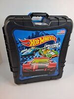 Hot Wheels Rolling Storage Case Retractable Handle Carry 110 Car Hotwheels
