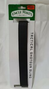 NEW UNCLE MIKE'S #26993 BLACK TACTICAL SHOTGUN SLING ◇ SWIVELS FLIP-OPEN SNAP