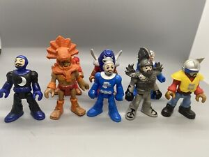 Lot of 8 Fisher Price Imaginext Figures Toys