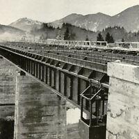 Reichsautobahn 1930's German Construction Photo Book German Highway Autobahn