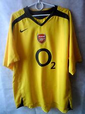 EXCELLENT!!!! 2005-06 Arsenal Away Shirt Jersey XL