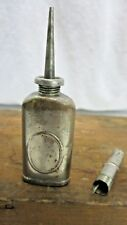 VINTAGE ANTIQUE POCKET MINI THUMB POCKET OILER SCREW CAP OIL CAN USA #5