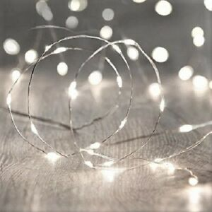 20 Mini–Led White Fairy Lights