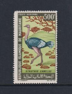Mauritania - 1967 ,500f Avestruz, Pájaro Sello - V / LARGO / M - Sg 267