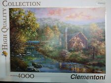 VERY RARE Clementoni puzzle jigsaw 4000pc PEACEFUL GROVE -COMPLETE 8005125345120