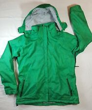 Womens MARKER SKI SNOWBOARDING JACKET Green SIZE 14 Detachable Hood