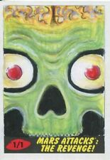 Mars Attacks The Revenge Sketch Card By Sobot Cortez