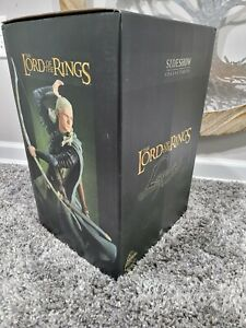 *Rare*Lord of the rings Legolas Statue Exclusive Sideshow Lotr/Hobbit low number