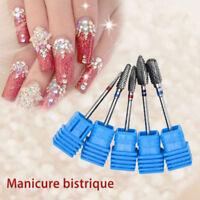 Nail Art Gel Drill Ceramic Bits File Cuticle Manicure Pedicure Electric Tool