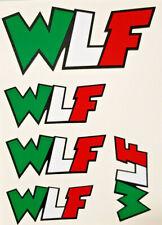 Valentino Rossi WLF 46 kit adesivi the doctor adesivo stickers tributo