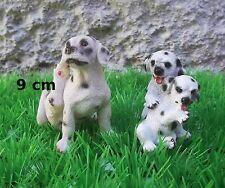 magnifique chiots joueurs ,figurine collection, dog, hond , G-chiens