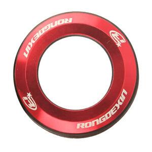Bicycle Headset Cap 28.6mm Universal Diameter MTB Cover CNC Metal O-ring Seal.