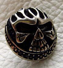 10 Stück Zierniete Totenkopf Kreuz Skull #126 Motivniete Niete Ziernieten Cross