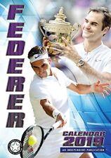 Roger Federer Wall Calendar 2019 A3 Poster