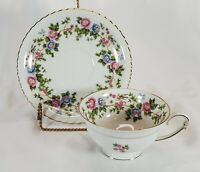 Porcelain Teacup and Saucer Franconia K and A Krautheim Selb Bavaria Germany